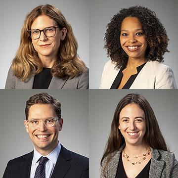 Carly Zubrzycki, Travis Pantin, Anna VanCleave, Nadiyah Humber